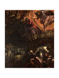 The Agony in the Garden, c.1570 Giclee Print by Jacopo Robusti Tintoretto
