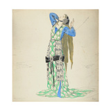 Costume Design for Bellengere in 'Le Mort De Tintagiles', 1912 Giclee Print by Charles Ricketts