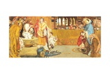 The Baptism of St Edwin, 1879 Giclee Print by Ford Madox Brown
