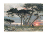 "A Day's End: ""It Might Have Been"" Giclee Print by Albert Goodwin"