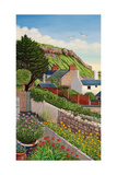View from My Terrace, 2012 Giclee Print by Liz Wright