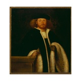 Portrait of a Man with a Fur Giclee Print by Giovanni de Busi Cariani