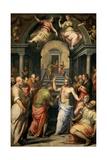 The Incredulity of St. Thomas, 1572 Giclée-Druck von Giorgio Vasari