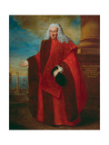Portrait of the Senator Angelo Memmo, 1770 Giclee Print by Alessandro Longhi
