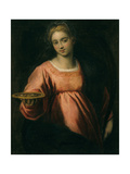 Saint Lucy Giclee Print by  Palma Il Giovane