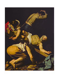 The Crucifixion of St. Peter, 1600-01 Giclee Print by  Caravaggio