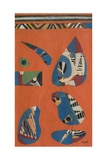 Indian Song, 1962 Giclee Print by Eileen Agar