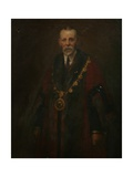 Alderman A. K. Barnett, c.1914 Giclee Print by Harold Harvey