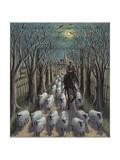The Shepherd, 2012 Giclee Print by P.J. Crook