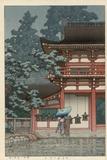 Kasuga Shrine, Nara Gicléetryck av Kawase Hasui