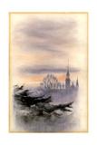 College from Westal, Cheltenham Giclee Print by Edward Adrian Wilson