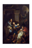 The Burial of Tobit by His Compatriots, 1733 Giclee Print by Pierre Parrocel