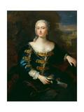 Portræt af en kvinde Giclée-tryk af Jacopo Amigoni