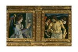 Polyptych of Saint Vincent Ferrer Giclee Print by Giovanni Bellini