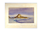 Observation Hill from Hut Point, 1911 Giclee Print by Edward Adrian Wilson