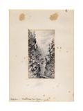 Wiesen Strasse Near Davos, Switzerland, 1898-99 Giclee Print by Edward Adrian Wilson