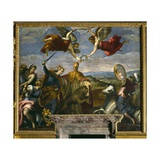 Allegory of the League of Cambrai Giclee Print by  Palma Il Giovane