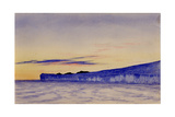Blue Ice Cliffs, 1901-04 Giclee Print by Edward Adrian Wilson