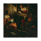 The Weavers Giclee Print by Jacopo Bassano