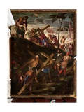 The Ascent to Calvary, 1565-67 Giclee Print by Jacopo Robusti Tintoretto