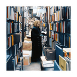 Woman in Bookseller, 2009 Giclee Print by Max Ferguson