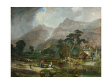 Borrowdale, 1846 Giclee Print by Samuel Bough