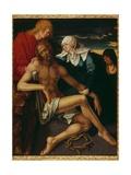 Christ Deposed with the Virgin, Saint John and a Pious Woman Giclee Print by Albrecht Dürer or Duerer