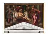 Crowning with Thorns, 1566-67 Giclee Print by Jacopo Robusti Tintoretto