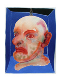Puppet Head - Mr Punch Resting, 2007 Giclee Print by Phil Redford