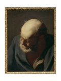 Head of an Old Man Giclee Print by Giuseppe Antonio Petrini