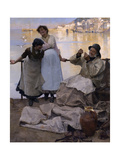 Eyes and No Eyes, 1887 Giclee Print by Frank Bramley
