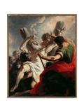 Crucifixion of St Andrew Giclee Print by Giovanni Antonio Pellegrini