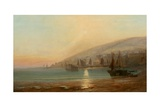 December, Mount's Bay Giclee Print by Henry Martin