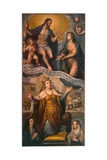Venice Entreats the Virgin for the End of the Plague Giclee Print by Jacopo Robusti Tintoretto