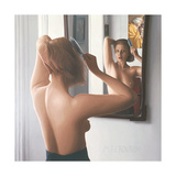 Woman Brushing Her Hair IV, 2011 Giclee Print by Max Ferguson