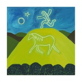 The White Horse in Somerset, 2011 Giclee Print by Cristina Rodriguez