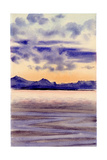 Calm Sea, 1901-04 Giclee Print by Edward Adrian Wilson