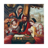 The Music Party Giclee Print by Pieter Coecke van Aelst