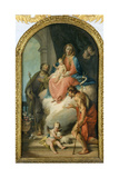 Madonna and Child with Saints Giclee Print by Francesco Zugno