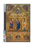 Saints and their Stories Giclée-Druck von Lorenzo Veneziano