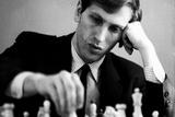 Bobby Fischer Plastic Sign Pancarte matière plastique