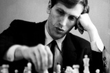 Bobby Fischer Plastic Sign Plastic Sign