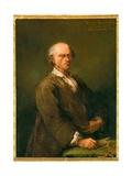 Portrait of Bartolomeo Ferracina Giclee Print by Alessandro Longhi