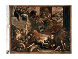 The Massacre of the Innocents, 1582-87 Giclee Print by Jacopo Robusti Tintoretto