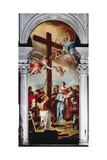 Saint Helen Finds the Wood of the Cross Giclée-tryk af Sebastiano Ricci