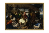 Adoration of the Shepherds, c.1562 Giclee Print by Jacopo Bassano
