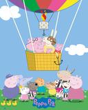 Peppa Pig - Balloon Plakaty