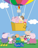 Peppa Pig - Balloon Posters