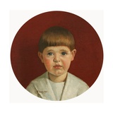 Portrait of James Jewill Hill, Jr Giclee Print by Harold Harvey