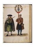 Venetian Clothing - a Religious Celebration of the Canonisation of a Saint Giclee Print by Jan van Grevenbroeck